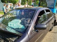 В Туле на ул. Октябрьской водитель автобуса устроил массовое ДТП, Фото: 18