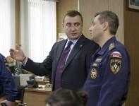 Алексей Дюмин посетил Главное управление МЧС России по Тульской области , Фото: 11