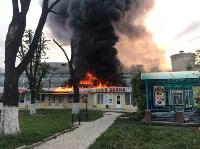 """Сгорел рынок """"Салют"""", Фото: 2"""