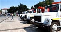 Александр Прокопук передал керчанам девяти единиц новой коммунальной техники, Фото: 2