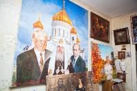 Александр Немцов рассказал об истории картины с Путиным, Богородицей и Николаем II, Фото: 15