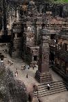 Храм Кайласанатха, Индия, Фото: 9