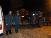 Порыв отопления в Ефремове, 22.01.2014, Фото: 3
