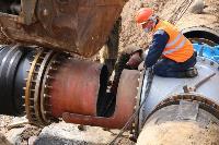 Как ведется монтаж водовода, питающего водой Пролетарский округ Тулы. Фото, Фото: 34