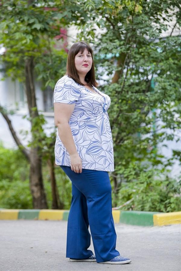 Людмила Якименко, 31 год. Рост 168 см, вес 116 кг.