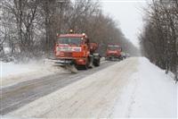 Расчистка тульских улиц коммунальными службами, Фото: 10