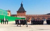 19 сентября в Туле прошла церемония вручения знамени управлению МВД , Фото: 1