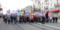 Первомайское шествие и митинг, Фото: 1