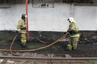 Пожар на хлебоприемном предприятии в Плавске., Фото: 11