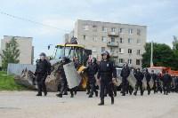 В Плеханово начали сносить дома в цыганском таборе, Фото: 2