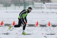 «Арсенал» готовится на снежном поле к игре против «Тосно», Фото: 17