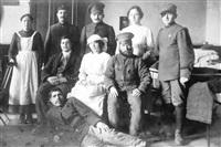 Русские солдаты несут санитарную службу в австрийском госпитале., Фото: 72