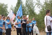 В Кондуках прошла акция «Вода России»: собрали более 500 мешков мусора, Фото: 41