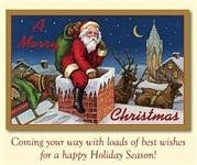 Старинные рождественские открытки, Фото: 20