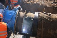 Как ведется монтаж водовода, питающего водой Пролетарский округ Тулы. Фото, Фото: 18
