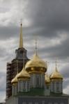 Установка шпиля на колокольню Тульского кремля, Фото: 44