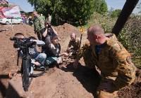Останки бойцов в деревне Криволучье, Фото: 16