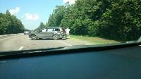 Авария на развилке старой московской дороги и М-2, Фото: 2