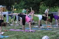 Йога в Центральном парке, Фото: 1