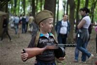 В Центральном парке воссоздали боевой подвиг советских солдат, Фото: 43