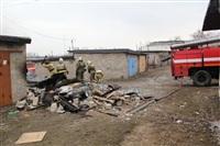 Пожар на ул. Победы в поселке Косая Гора. 3 апреля 2014, Фото: 5