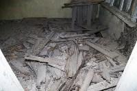 В Щекинском районе аварийный дом грозит рухнуть в любой момент, Фото: 11