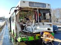 Авария на трассе Тула-Щекино, 10 февраля 2020, Фото: 3