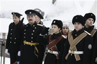 Никита Руднев-Варяжский, внук легендарного командира «Варяга» с визитом в Тульскую область, Фото: 20