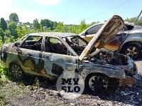 Цыганский конфликт в Туле: ночью подожжены четыре автомобиля, Фото: 1
