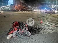 На ул. Мосина в Туле разбился мотоциклист, Фото: 8