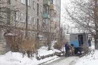 Коммунальная авария на улице Демонстрации, Фото: 9