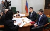 Владимир Груздев провел личный приём жителей Тульской области, Фото: 11