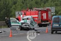 В ДТП под Тулой погибли три сотрудника УФСИН, Фото: 8
