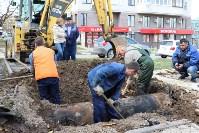 Как устраняют коммунальную аварию в Туле, Фото: 3