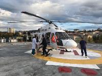 Жительницу Одоева доставили в Тулу из Сочи на вертолете санавиации, Фото: 2