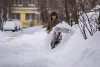 Снегопад в Туле. 19 января 2016 года, Фото: 57