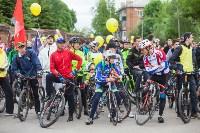 В Туле прошел большой велопарад, Фото: 168
