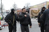 В ходе зачистки на Центральном рынке Тулы задержаны 350 человек, Фото: 9