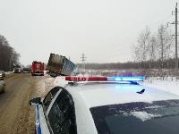 На Одоевском шоссе в Туле у водителя фуры отказало сердце, Фото: 6