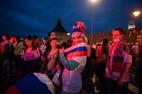 Как туляки поддерживали сборную России в матче с Бельгией, Фото: 35