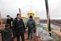 Осмотр кремля. 2 декабря 2013, Фото: 10