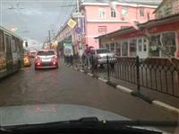Центр Тулы затопило, Фото: 1