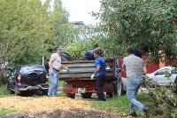 «Экопатруль» благоустроил в Киреевске двор, Фото: 16