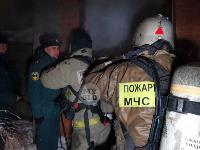В Туле пожарные вынесли из горящего особняка больную женщину, Фото: 5