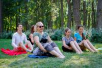 В Центральном парке прошла тренировка по пилатесу, Фото: 11