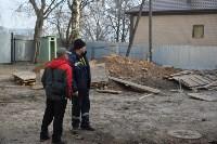 Снос аварийного дома на улице Октябрьской, Фото: 50