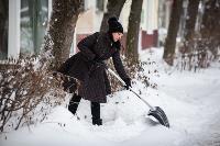 Последствия снежного циклона в Туле, Фото: 23