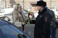 Полицейские поздравили автоледи с 8 Марта, Фото: 24