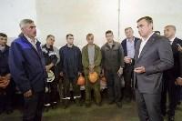 Алексей Дюмин посетил Ефремовский завод синтетического каучука, Фото: 14