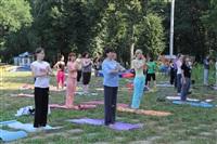 Йога в Центральном парке, Фото: 10